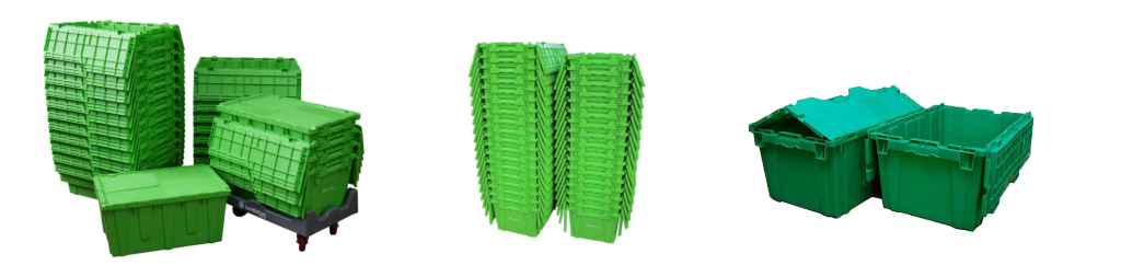 Green Crates photo - Nova Express Movers